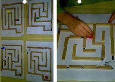 Labyrinthes, plein d'idées ... Plus