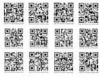 we plan to use QR codes to link to our website, these will possibly used on our posters , business cards and t shirts.