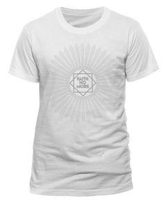 Faith No More (Sunburst Logo) Men's White T-Shirt. Buy Faith No More (Sunburst Logo) Men's White T-Shirt at the official Faith No More online shop