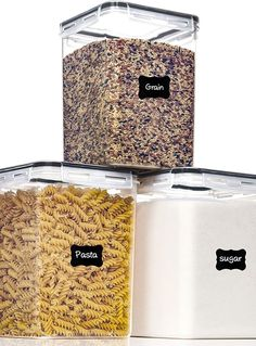(This is an affiliate pin) Containers Airtight PantryStar Canisters Organization