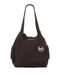 V250E MICHAEL Michael Kors Extra Large Ashbury Grab Bag, Coffee