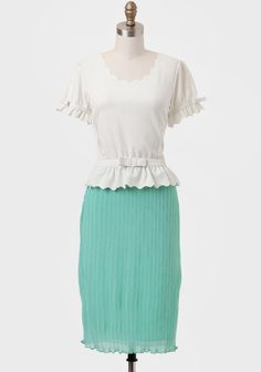 Giselle Marie Colorblocked Indie Dress - I love this top.