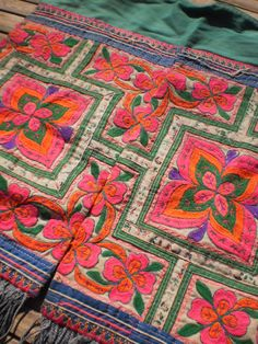 Embroided Tribal Textile