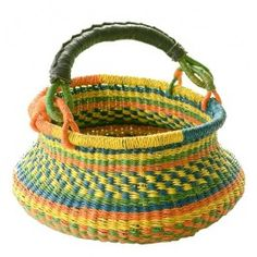 Swing Bolga Basket. Fair Trade made in Ghana for Bella Luna Toys. $29.95