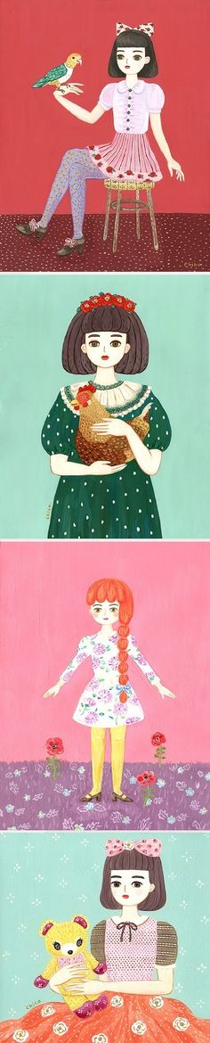 Illustrations by Chicaco Toya / On the Blog!