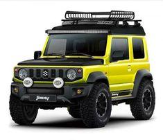 Afbeeldingsresultaat voor new jimny 2019 Suzuki Jimny Off Road, New Suzuki Jimny, Suv Trucks, Jeep Truck, Maruti Jimny, My Dream Car, Dream Cars, Suzuki Every, Advertising History