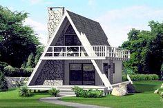 Casă P M în forma literei A, pe structură din lemn, cu suprafața de 127 mp