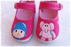 Zapatos pocoyo pocoyo zapatillas pocoyo Zapatos por FieltroFever