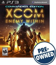 Xcom: Enemy Within - Commander Edition - PRE-Owned - PlayStation 3