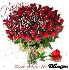 happy birthday flower ros Happy Birthday Flowers Wishes, Happy Birthday Mom Quotes, Happy Birthday Video, Birthday Wishes Messages, Happy Birthday Beautiful, Happy Birthday Greetings, Birthday Greeting Cards, Birthday Images Hd, Birthday Frames