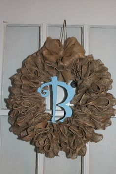 Keeping Up With Katelyn : Ruffle Burlap Wreath Tutorial