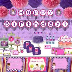 NEW 60% Off Doc McStuffins Party Pack, INSTANT DOWNLOAD, Printable, Over 140 Items Included, Cupcake Toppers, Signs, Banner, and much more