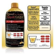 This is the only supplement that I take. It's good for the heart and brain!