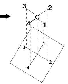 Ammonia is an example of trigonal pyramid molecular