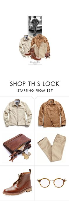 """""""Lui Dans La Ville / Him In The City"""" by halfmoonrun ❤ liked on Polyvore featuring American Eagle Outfitters, Rainman and Thom Browne"""
