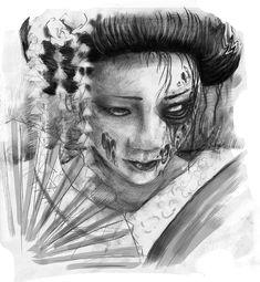 A beautiful piece of art work by: aenema777 on deviant art.