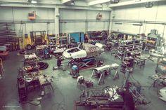 The Incredible Workshops of Maranello's Master Craftsmen | Petrolicious
