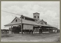 Market at Morgan City LA 1899-1902