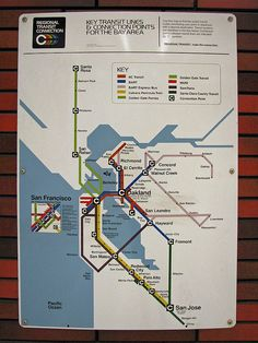 BART Transit Connections ~ 1981 | Flickr - Photo Sharing!