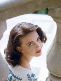 Natalie Wood. Photo by Peter Basch, 1958.