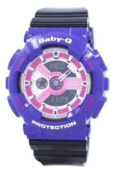 Casio Baby-g World Time Shock Resistant Analog Digital Ba-110nc-6a Women's Watch (FREE Shipping)