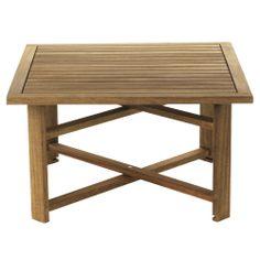 Table basse pliante de jardin Naturel - Guerande - Les tables basses de jardin - Meubles de jardin - Tous les meubles - Décoration d'intérieur - Alinéa