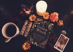 """The post """"Green Witch"""" appeared first on Pink Unicorn Witch Witch Alter, Autumn Witch, Nature Witch, Witch Room, Green Witchcraft, Witchcraft Herbs, Witch Cottage, Yennefer Of Vengerberg, Witch Aesthetic"""