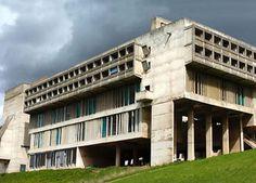 convento de la tourette le corbusier (1953-60), Eveux-sur, Le corbur pós guerra