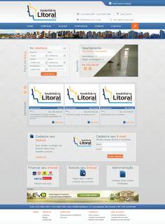 Imobiliária Litoral (2012) acesse: imobiliarialitoral.com