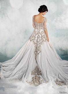 dar sara dubai wedding dresses 2014