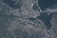 Health effects arising from September 11,2001  -    NYC area  & New Jersey in photo as seen from The  International Space Station showing cloud/plume of smoke that blanketed the cities exposing EVERYONE to airborne carcinogens for weeks & months... Hell Yeah WE ALL WERE EXPOSED & HUNDRED OF THOUSANDS  WIILL DIE EVENTUALLY FROM CANCERS FROM 911 TOXIC AIR EXPOSURE- WE WERE & STILL ARE DUPED WITH  COVERRUPS & LIES !!!