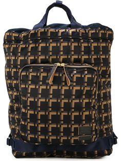 MARNI Marni X Porter Checked Backpack. #marni #bags #backpacks