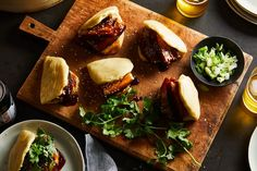 Bao Buns With Red-Braised Pork Belly
