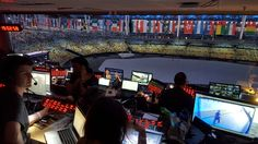 Samba dancers, fireworks and many colors: the ceremony at Maracana was a spectacular production. In Rio, #NHK realised with #MediorNet the world's first 8K production, while #NEP relied on #RIEDEL´s Artist in its main production OB van.