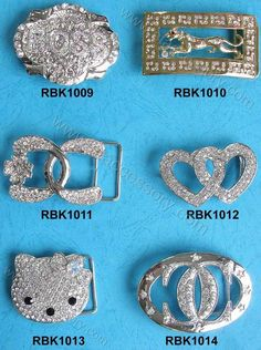 Rhinestone Belt Buckles | Rhinestones Jewelry Designs