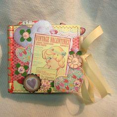 Valentine Paper Bag Album Vintage Feel
