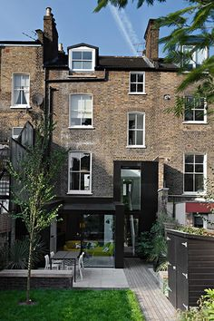 Credit: Michael Franke photographs.  One of the shortfalls of Victorian terraces is a tendency for narrow, dark living spaces. This house in east London w...