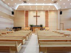 교회건축 / 교회 인테리어 / 교회 리모델링 / 교회 디자인 / 포천시민교회 : 네이버 블로그 Religious Architecture, Church Architecture, Modern Architecture, Church Interior Design, Church Stage Design, Gypsum Design, Altar Design, Light Art Installation, Modern Church