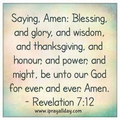 Revelation 7:12
