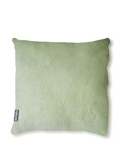 Natural Brand Torino Cowhide Pillow, Lime
