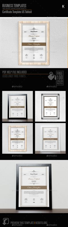 Certificate - Certificates Stationery certificado Pinterest - certificate template software