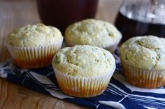 goat cheese chive corn muffins by sheryl