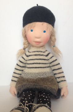 Berdine  Handmade cloth doll. Partial payment by AldegondeCeelen