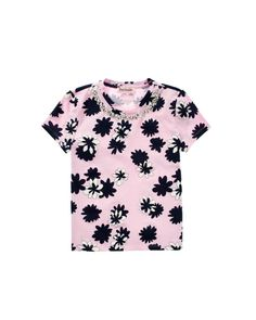 Girls Embellished Print Tee - Girls - Juicy Couture