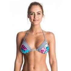 98211172ed ROXY™ Womens Line It Up Tiki Tri Separate Bikini Top - Bikini top for women  from ROXY.