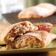 Southwest Chicken Calzone