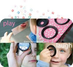 """:) ... """"share the exploration of pattern, color, reflection, light, mirrors, and angles with your children"""""""