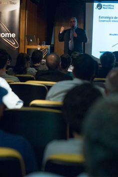 Antonio Lapa, Diretor da EPYX Soluções Editoriais, durante abertura da Next Wave Tour 2012 - São Paulo. Foto: Guido Peters.