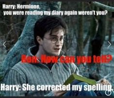 """16 Hermione Memes Only True 'Harry Potter' Fans Will Appreciate That would be me! 😂 I quote : """"How come you're not in Ravenclaw, with brains like yours?"""" The post 16 Hermione Memes Only True 'Harry Potter' Fans Will Appreciate appeared first on Welcome! Harry Potter World, Arte Do Harry Potter, Harry Potter Puns, Harry Potter Universal, Harry Potter Funny Quotes, Humor Videos, Memes Humor, Funny Memes, The Golden Trio"""