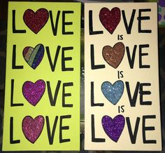 LOVE is LOVE is LOVE Original Paintings by twiggyoriginals Custom order yours today twiggy@twiggyorig... $50+ . **©2016 Twiggy™ Originals. All images in the Twiggy Originals Group are copyright 2016. Twiggy is a registered trademark. Respect your fellow artists - no reproduction is allowed.** Registered Trademark, Twiggy, Respect, Original Paintings, Artists, Group, Love, The Originals, Unique Jewelry